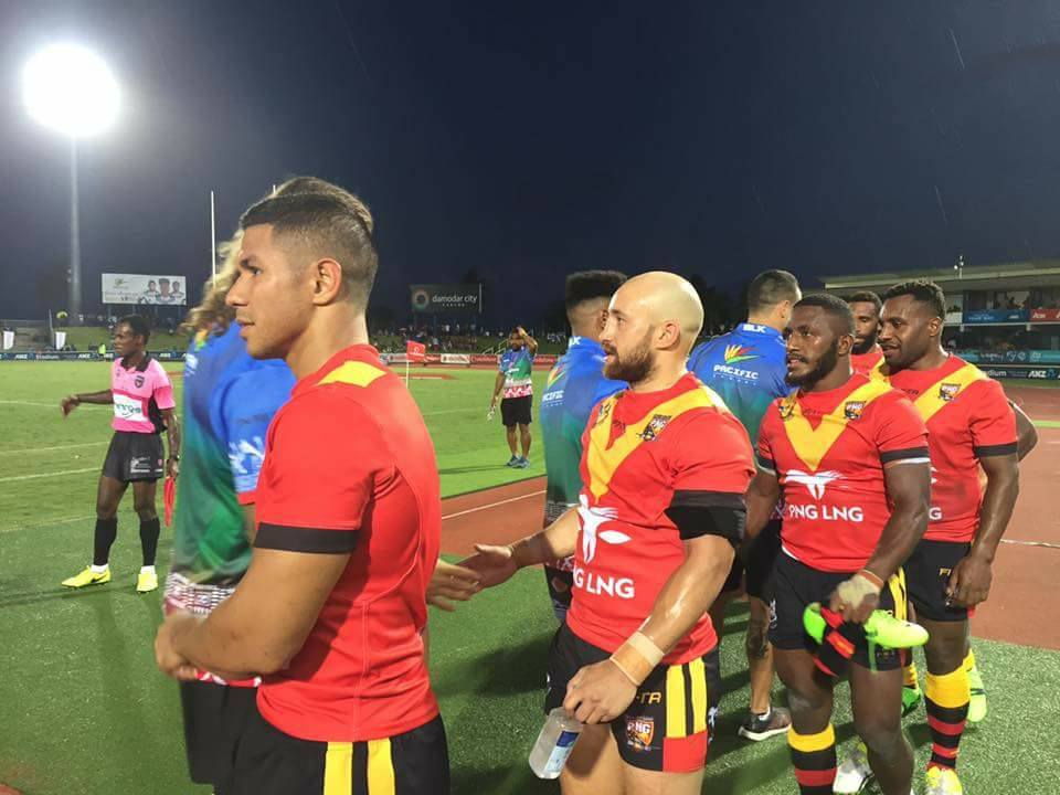 PNG Kumuls v England Knights match tickets go on sale.