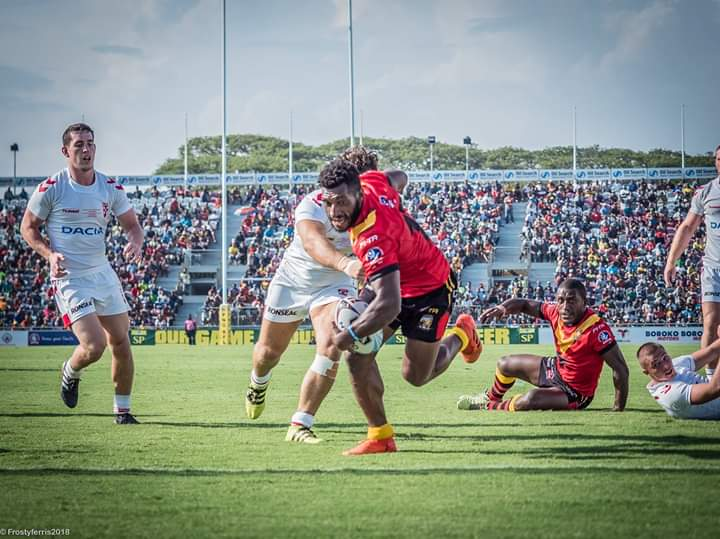 PNG Kumuls defeat England Knights in Port Moresby.