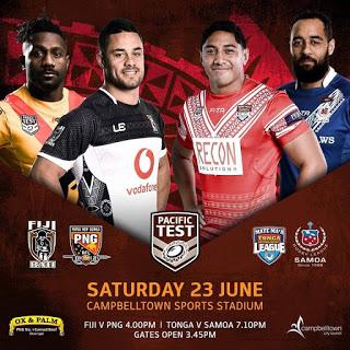 PNG Kumuls v Fiji Bati Pacific Test Match Live Updates.