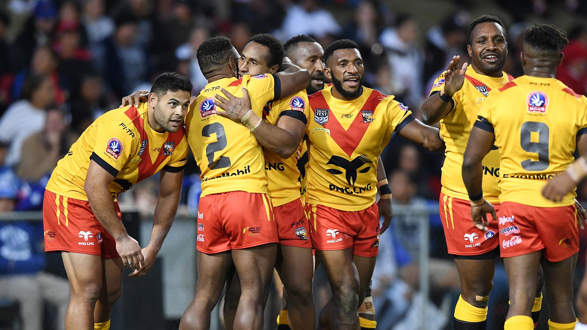 Match highlights: Papua New Guinea v Fiji.