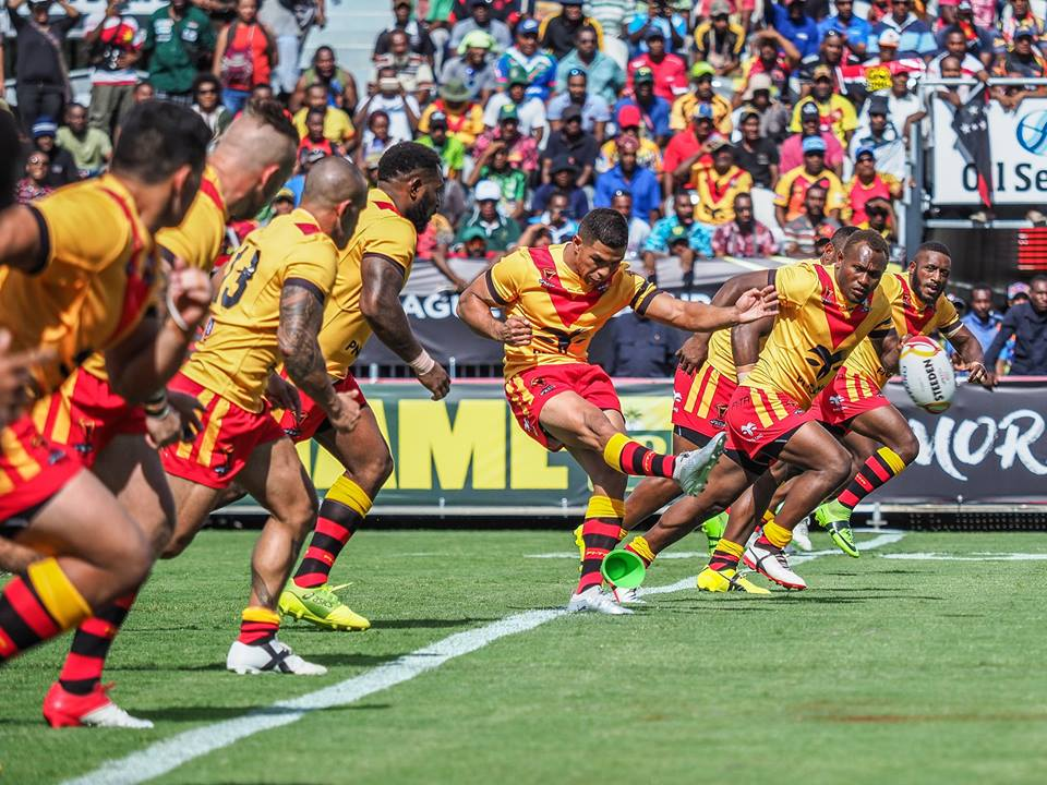 PNG Kumuls team to face Ireland.