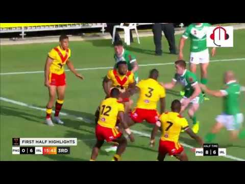 PNG Kumuls v Ireland Highlights.