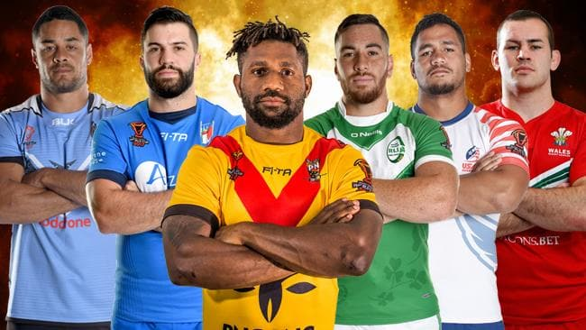 Rugby League World Cup 2017: Live coverage PNG v Ireland.