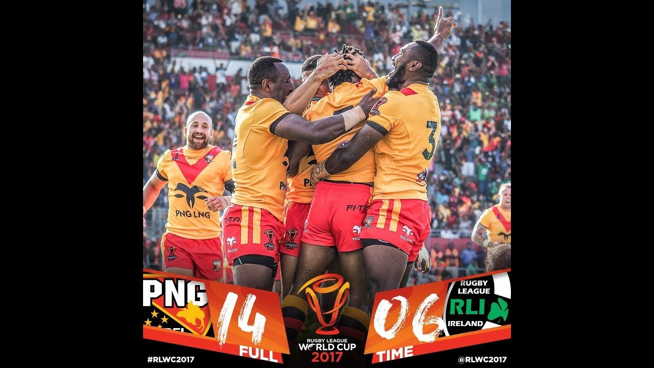 PNG Kumuls 14 vs Ireland 6.