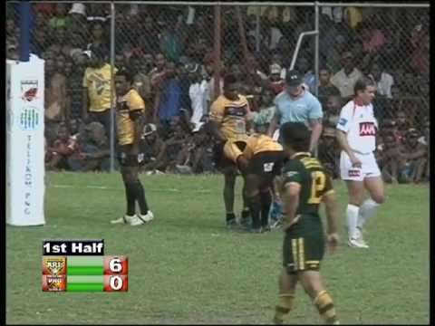 2011 PNG Kumuls vs. Australian Kangaroos (Part 2).