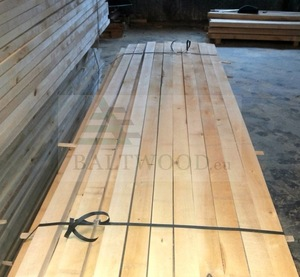Baltic birch timber.