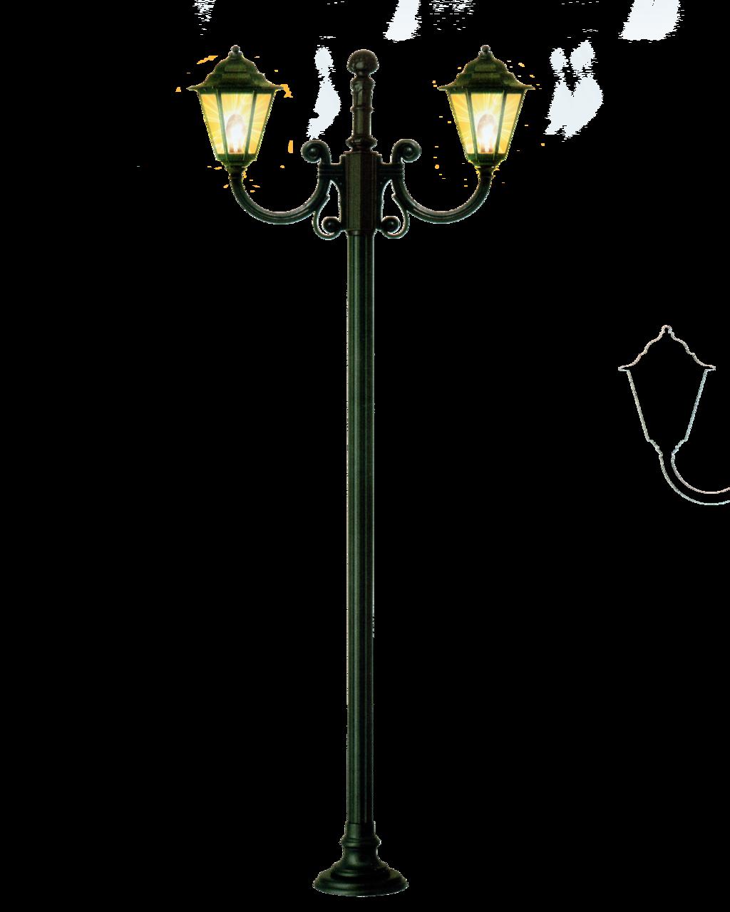 Download Cartoon Lamp Post Light HQ PNG Image.