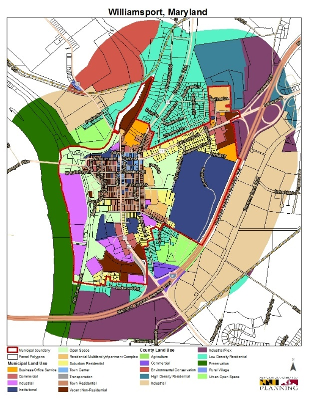 The Maryland Department of Planning Maps Land Use for the.