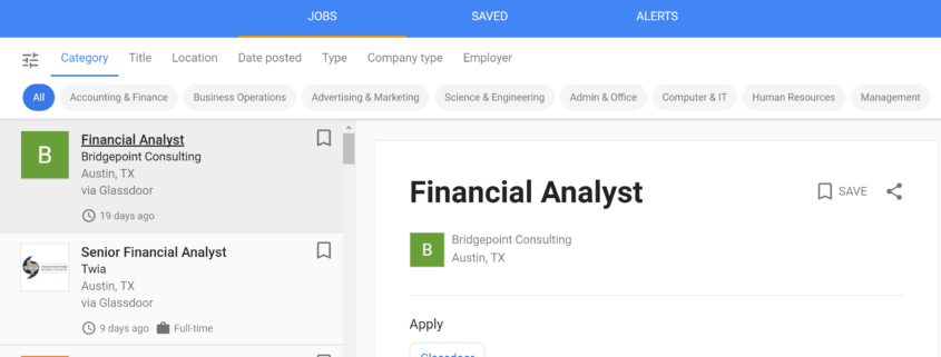 Learn About The Latest Job Search Tool.