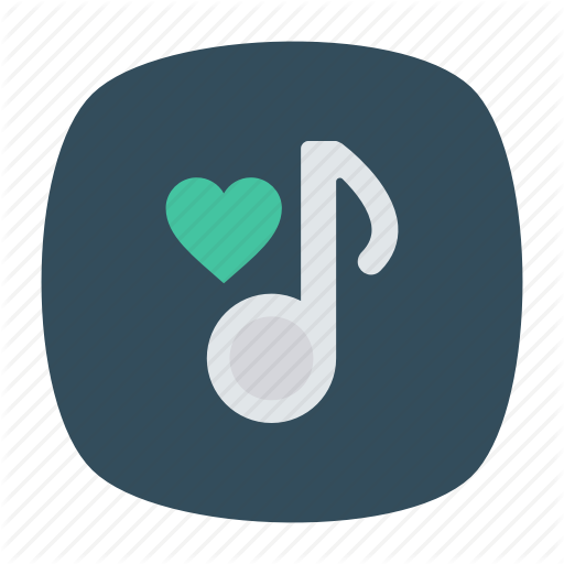 \'Music, Audio, Video Flat Square Rounded vol 1\' by Iconic hub.