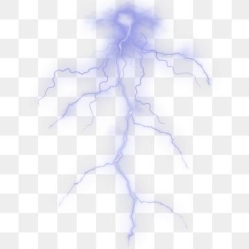 Lightning Effect PNG Images.