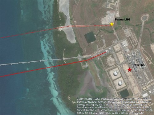 Gas agreement signed for Papua LNG project.