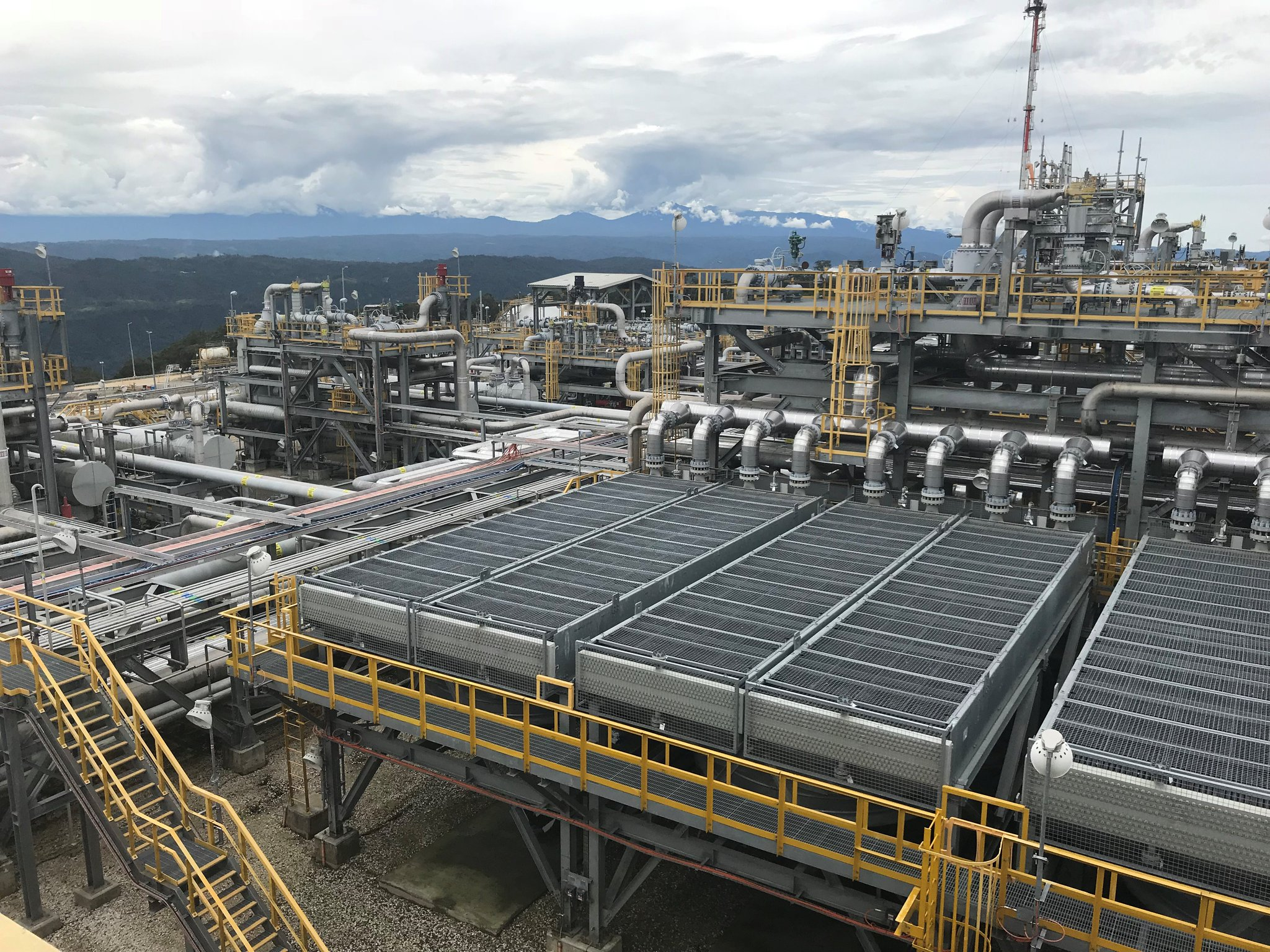 PNG LNG project resumes full production.