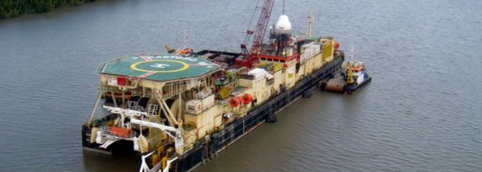Offshore PNG LNG pipeline complete.
