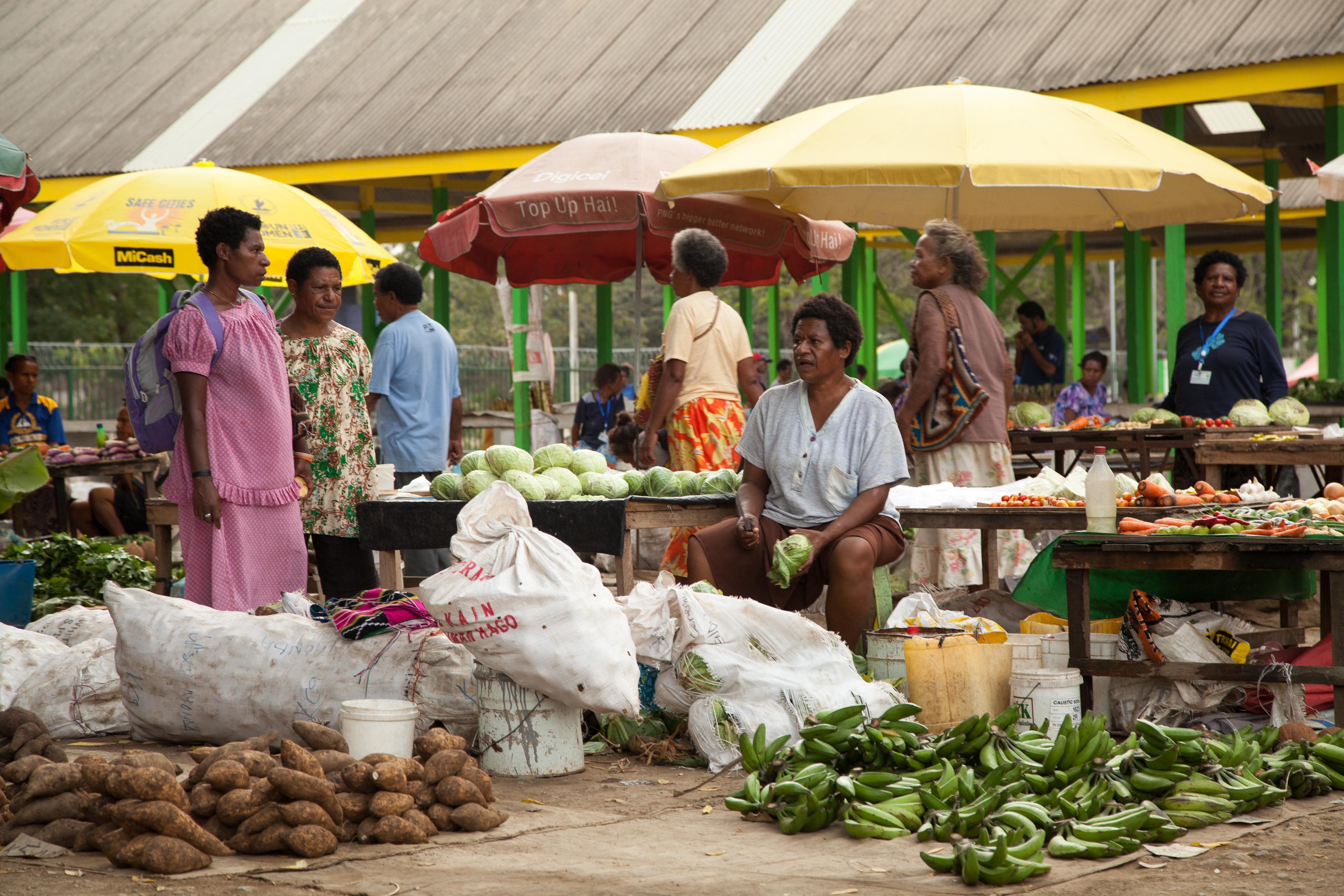 File:Gerehu Markets Port Moresby, Papua New Guinea.