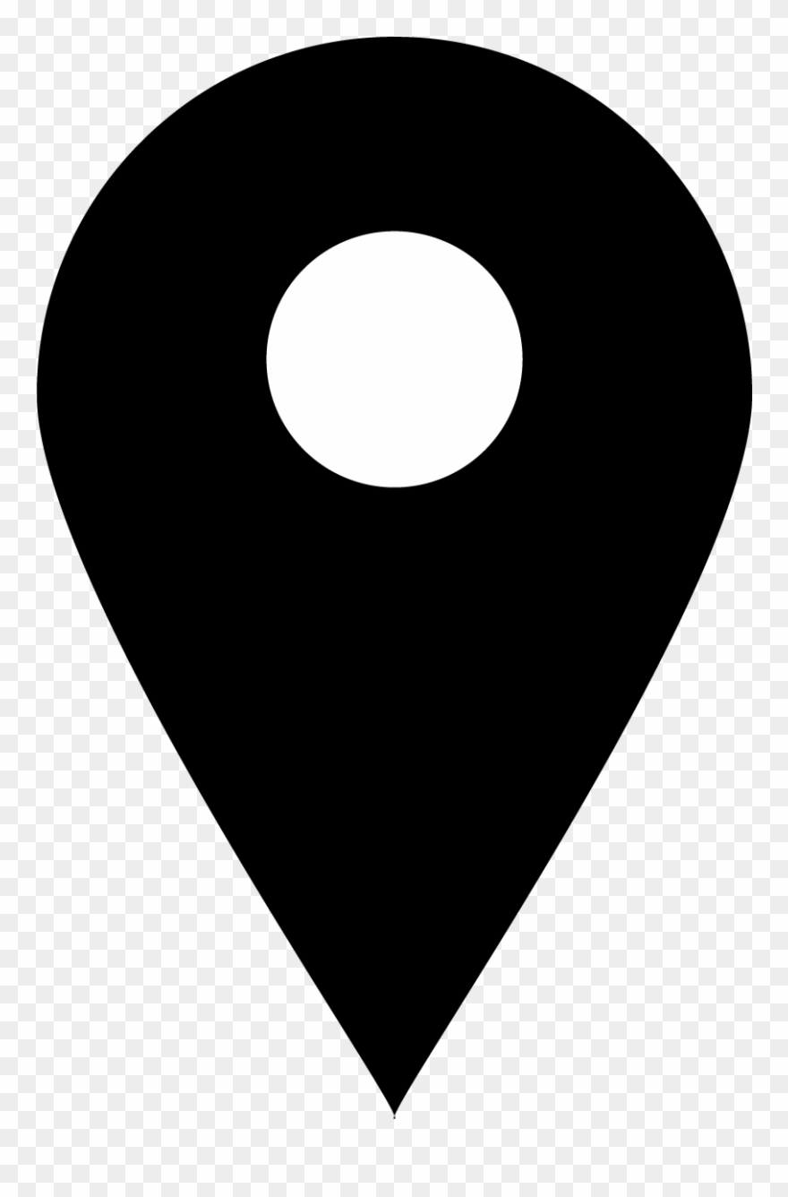 Location Icon Png Black Clipart (#32247).