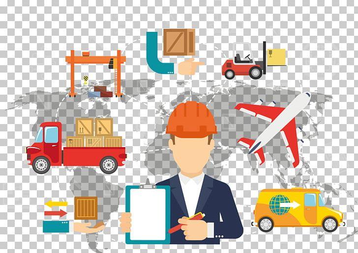 Logistics Technique Transport Bedürfnis Management PNG.