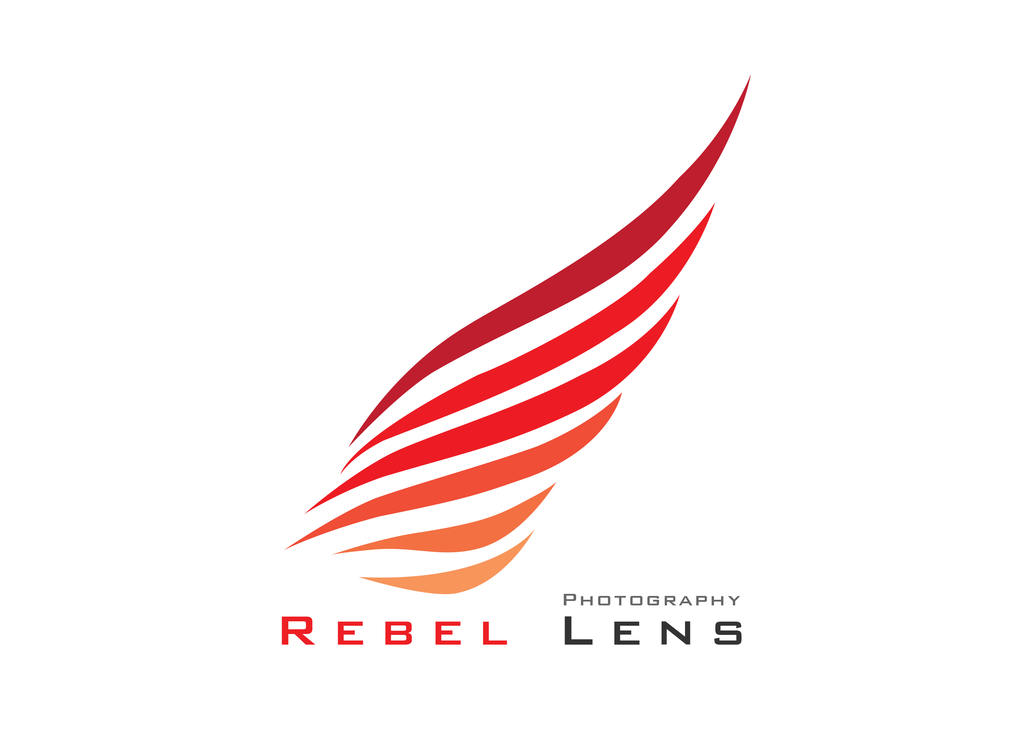 Rebel Lens Photography Logo, Icon and Brand Identity Design.