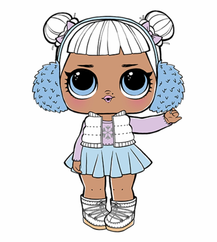 Lol Surprise Dolls Snow Angel Free PNG Images & Clipart.