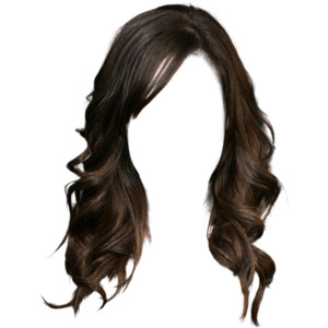 Long hair style png #26041.