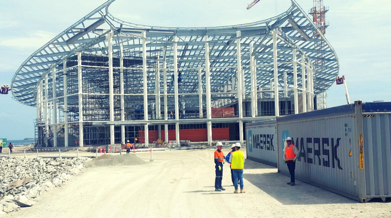 APEC Haus to be completed in July: Contractor.