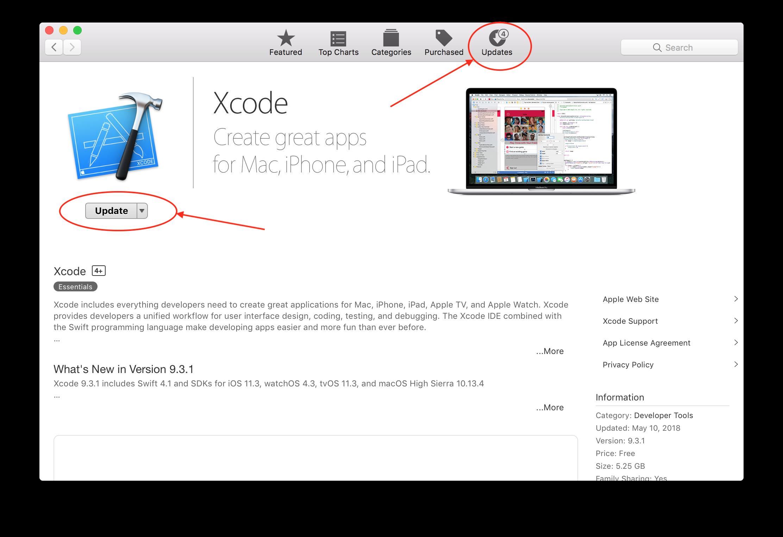 Set up Xcode.