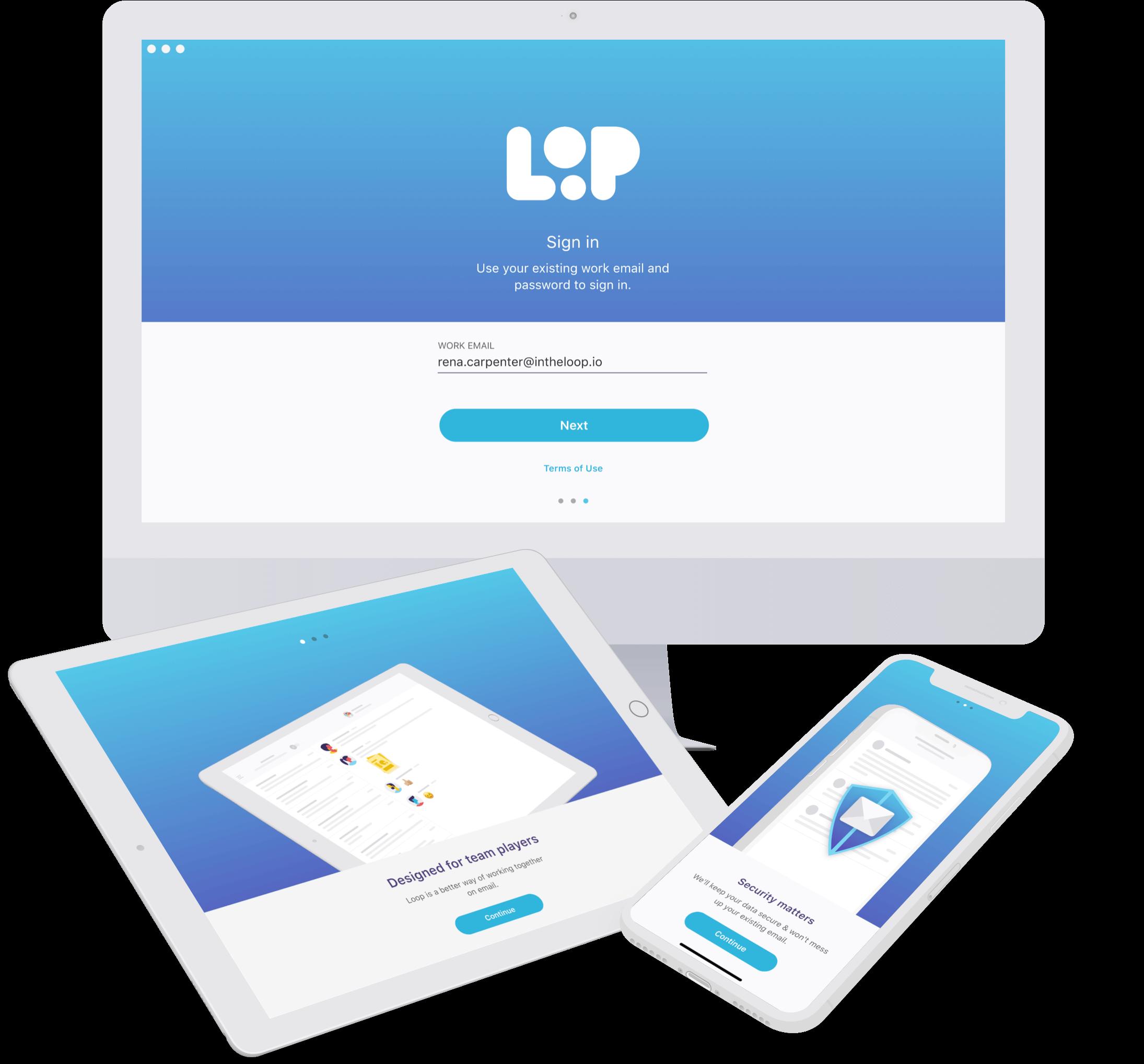 Loop Email.