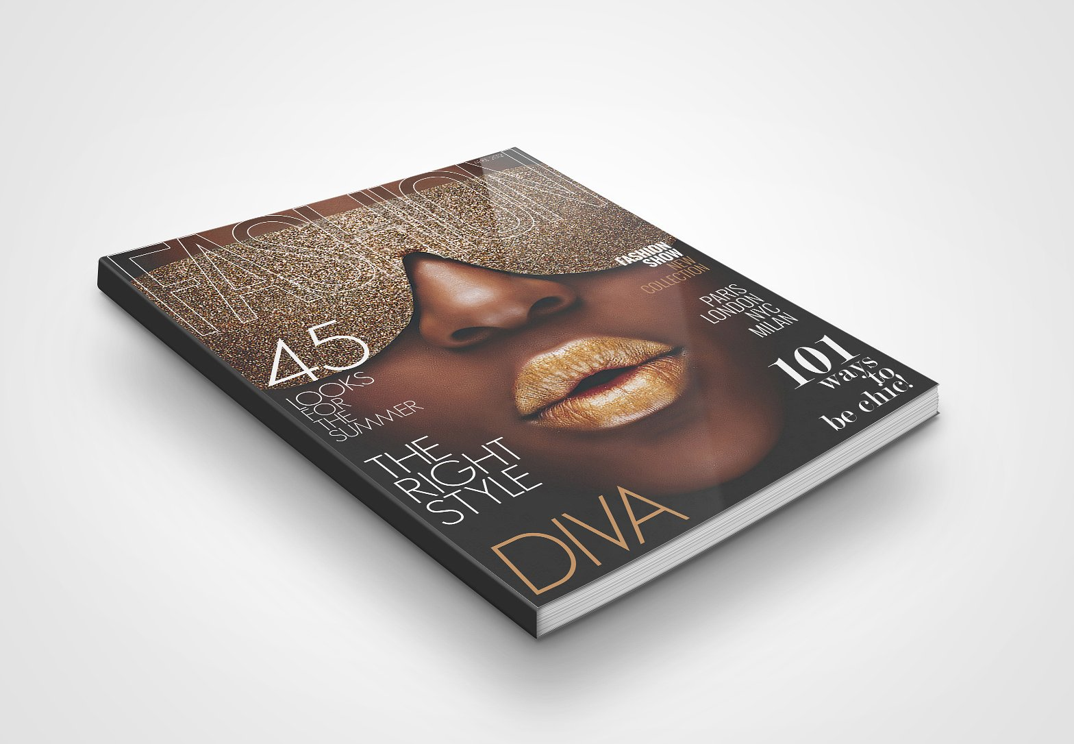 Download Free png Magazine Cover Template 2 ~ Magazine.