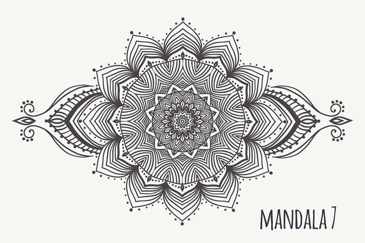 Mandala PNG Images Transparent Free Download.