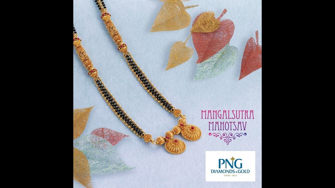 New Models Gold Light Weight Mangalsutra Designs by DailyIndian Fashion.