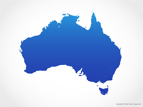 Vector Maps of Australia.