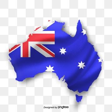 Australia Map PNG Images.