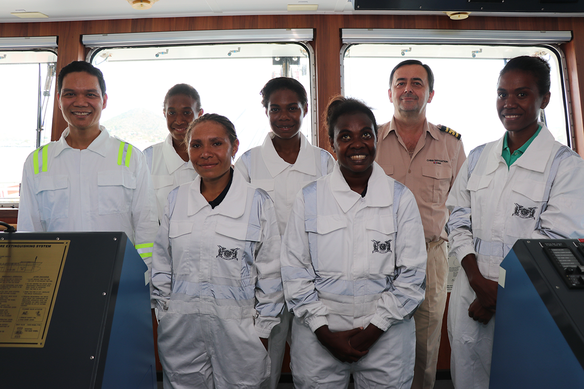 Maritime Scholarships for study in PNG.