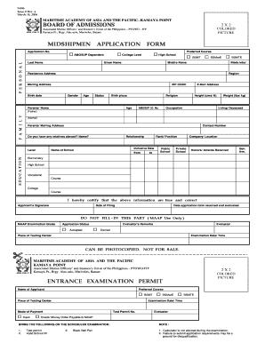 Maap Application Form 2017.