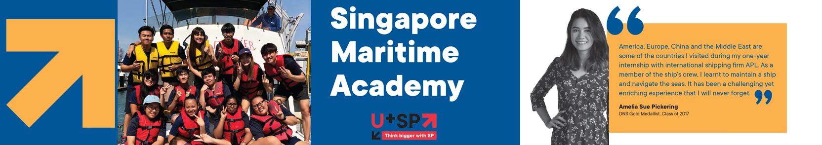 Singapore Maritime Academy (SMA).
