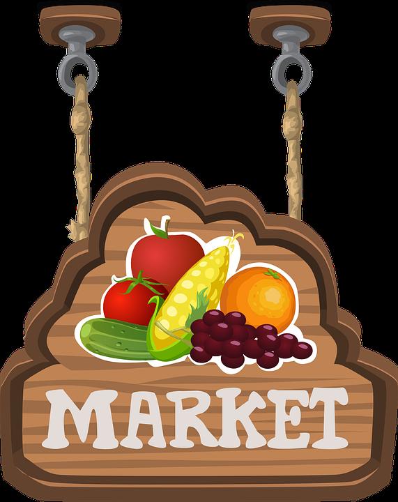 Market PNG Photo.