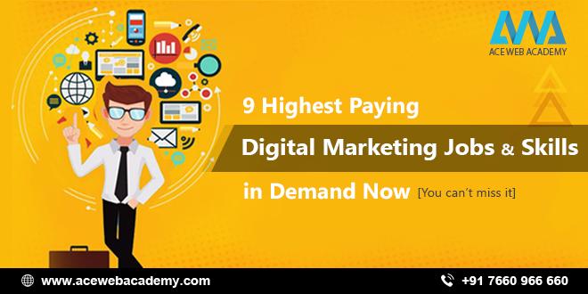 9 Highest Paying Digital Marketing Jobs & Skills in Demand 2019.