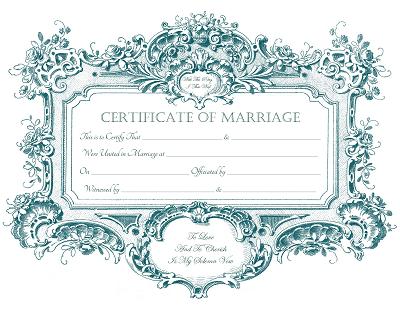 Download Free png Keepsake Marriage Certificates for free.