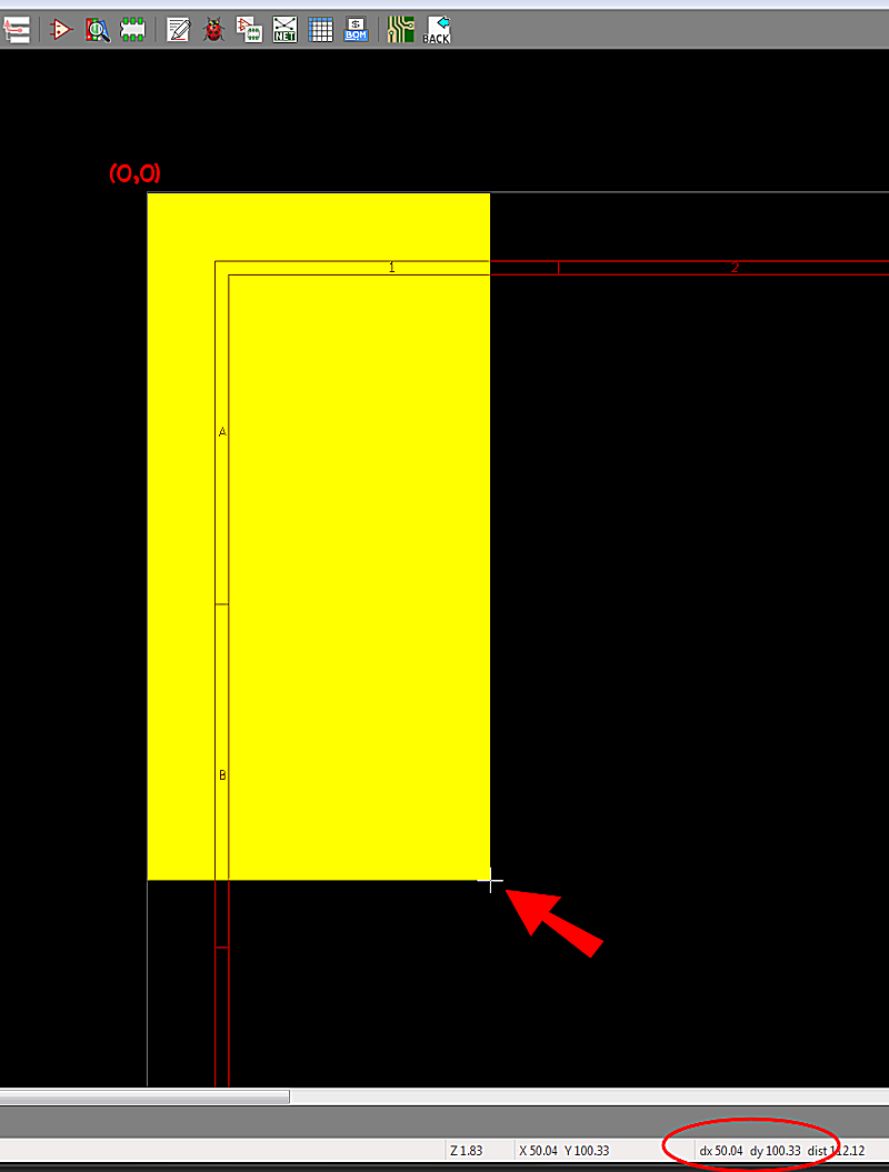Adding high resolution graphics or text to a schematic.