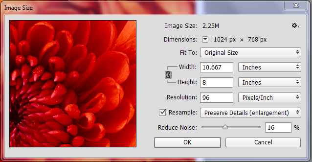 Is your image high enough resolution for printing?.