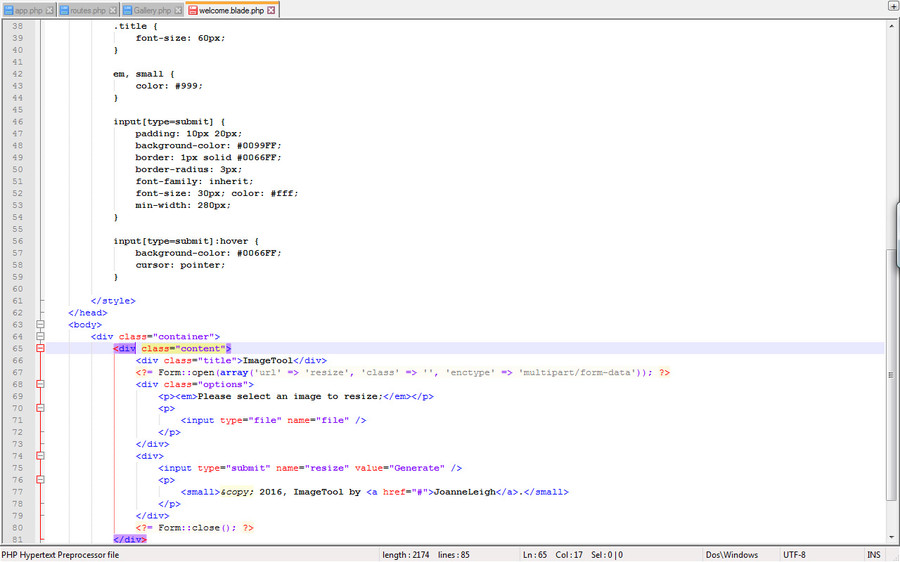 Entry #5 by njose for Write php code to reduce image size.
