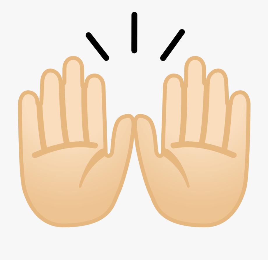 Raising Hands Emoji Png.