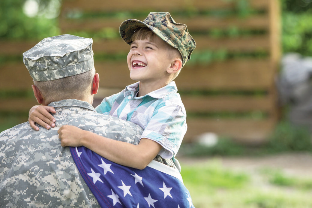 Help Your Child Understand The Meaning Of Military Service.