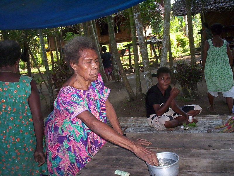 Nineteen years and counting in Papua New Guinea: July 2008.