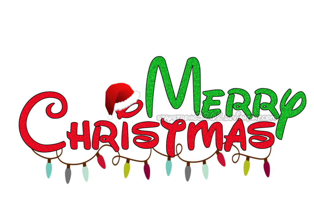 Merry Christmas Decorative Texts PNG Transparent Images (25.