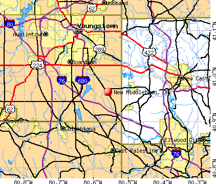 New Middletown, Ohio (OH 44442) profile: population, maps.