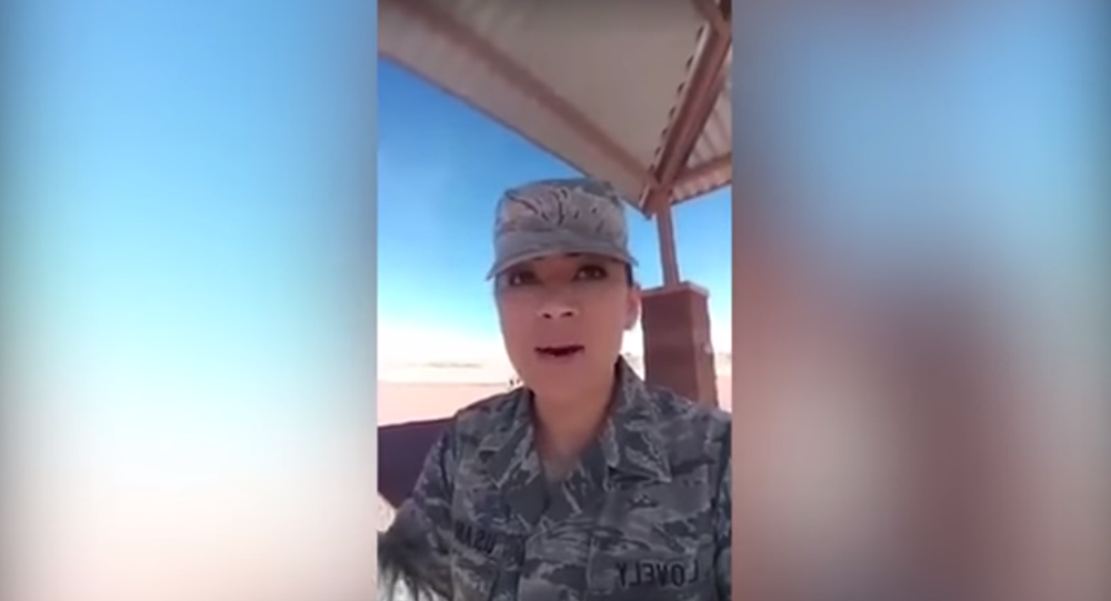 US Air Force Technical Sergeant Who Posted Racially.