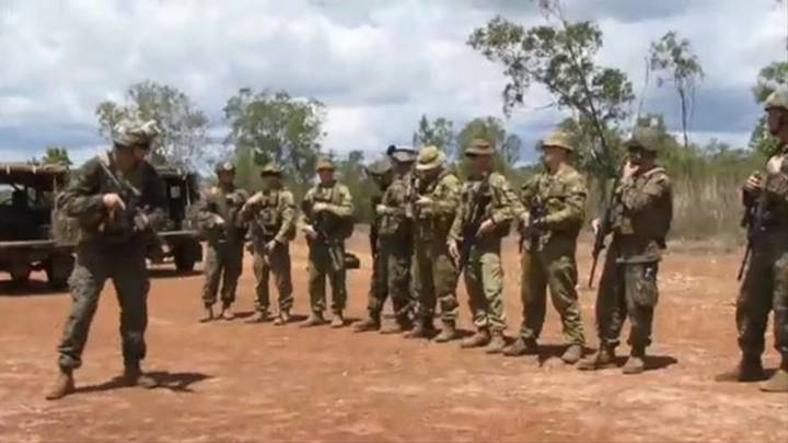 Aussie Soldiers To Be Banned From Using Local Slang Around.