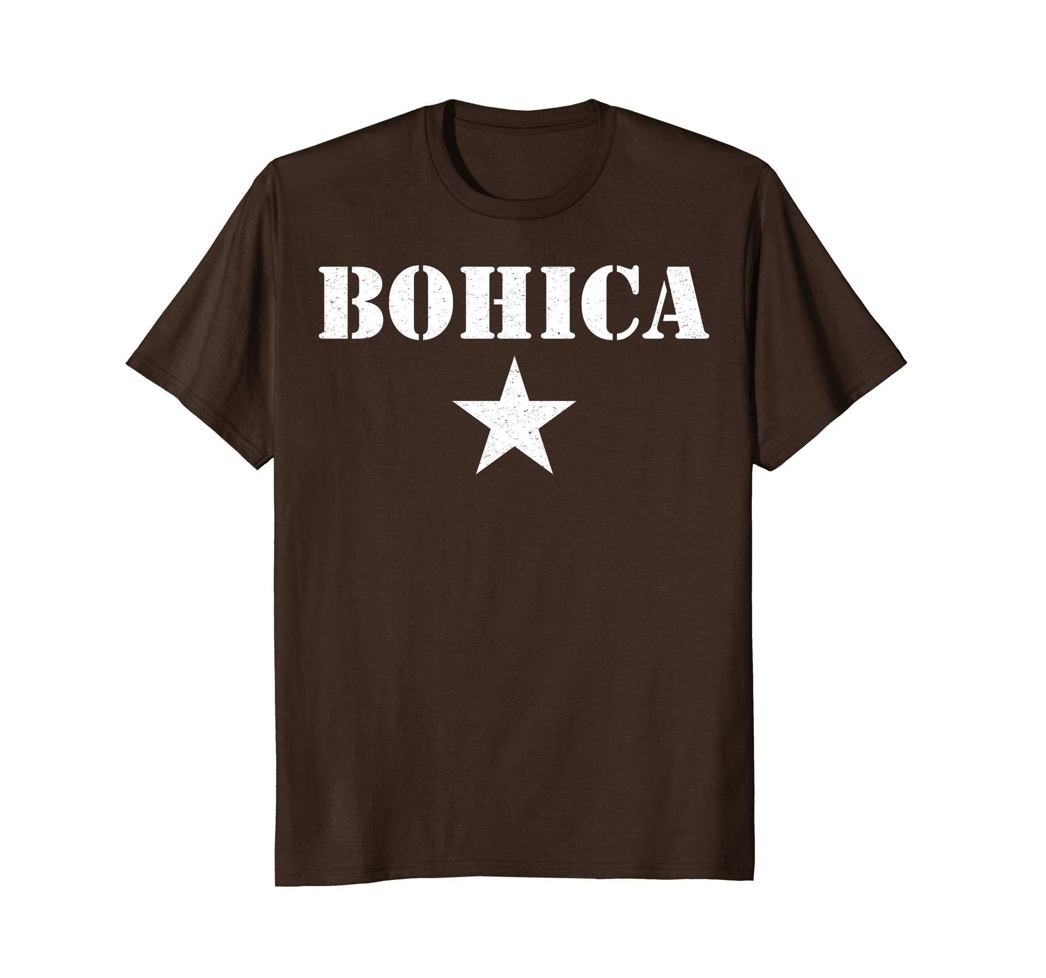 Amazon.com: BOHICA Shirt Funny Military Slang Tee: Clothing.