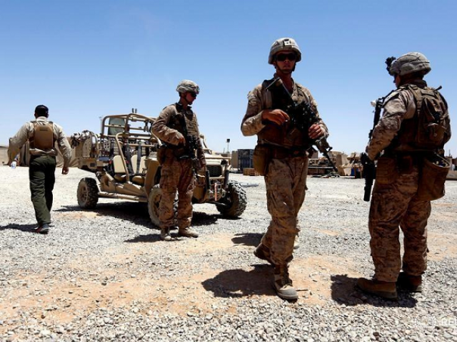 Nearly half of Americans term US military intervention in.